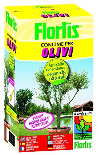 FLORTIS ABONO ÓRGANO MINERAL DE OLIVOS 1 KG