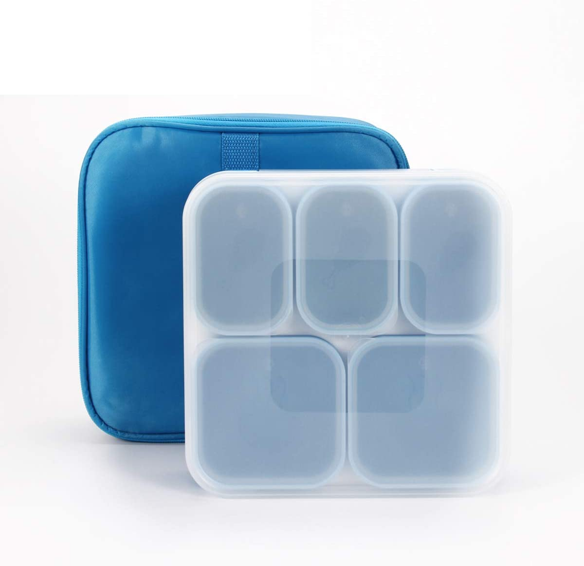 U Unus Bento Lunch Box, Meal Prep, Leak Proof, Reusable 5-Compar