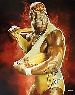 hulk hogan signed photo