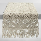 Natural Macrame Table Runner | World Market