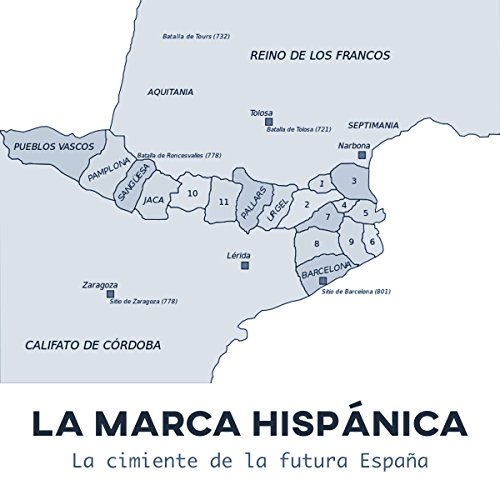 La Marca Hispánica: La cimiente de la futura España [The Hispanic Brand: The New Foundation of the Future Spain] audiobook cover art