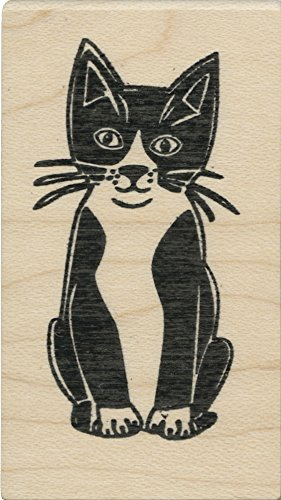 Tampon en caoutchouc - Olive Kitty - Cats Life Press 037 D
