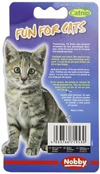 Nobby Set de 2 Jouets Souris Vivi avec Catnip pour Chat 5 cm