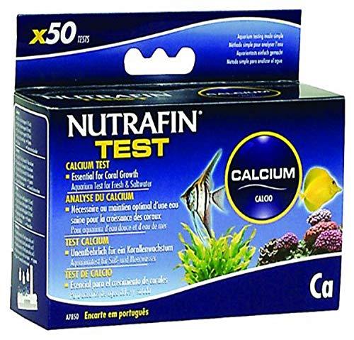 Nutrafin Calcium Test pour Frais et d'eau de mer