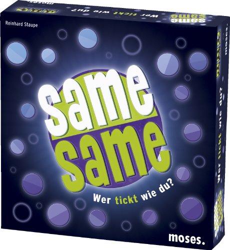 Moses 90125 - Same Same - Wer tickt wie du, Brettspiel