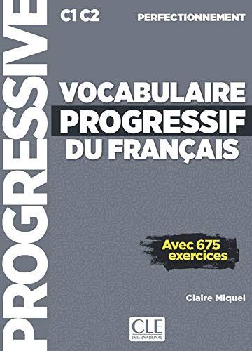 Vocabulaire progressif du français. Schülerbuch + mp3-CD + Online: Niveau perfectionnement
