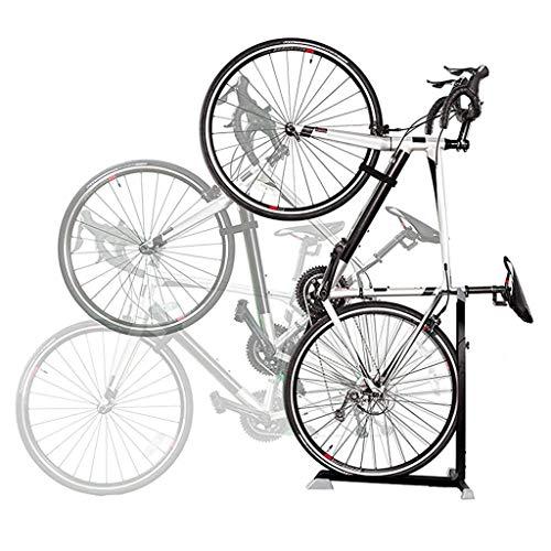 Fahrradständer Hängender vertikaler Parkständer - Indoor-Mountainbike- und Rennrad-Aufbewahrungsständer für Garage oder Heim - Fahrradladen-Ausstellungsstand