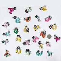 パッチ、Tシャツのジーンズ、ジャケット、バックパック、靴の装飾や修理に使用されます。小動物の色英語文字26個