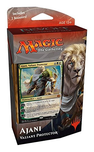 Magic Aether Revolt Planeswalker Deck - Ajani, Valiant Protector (Includes 2 Booster Packs)
