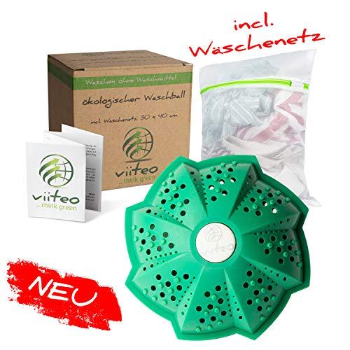 NEU viiteo Öko Waschkugel für Waschmaschine, nachhaltig & umweltschonend waschen ohne Waschmittel,...