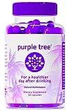 Purple Tree Hangover Cure & Prevention Pills | Dihydromyricetin (DHM), Milk Thistle, Vitamin B,...