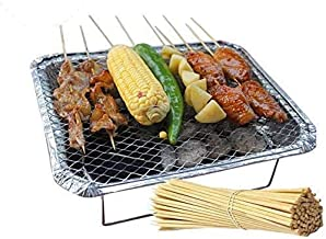 Fun Pack Great for Camping,Tailgate /& Backyard Parties!!! Charbox 1-4 People Disposable BBQ Charcoal Grill//Portable//Ready to Use//Lasts 3 Hrs!!//Recyclable//Barbecue Grill Eco Friendly