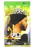 King.J Unisex Cotton Spandex Dreadlocks Tube (Black)