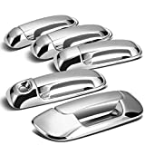 Tailgate + Door Handle Cover (Chrome) For 2002- 2008 Dodge Ram 4DR