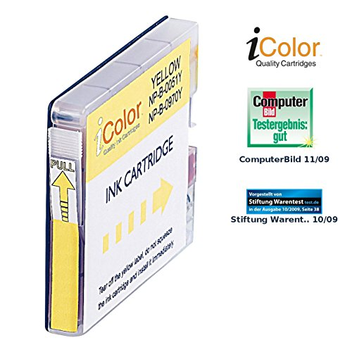 iColor Brother Mfc 235c: Patrone für Brother LC-970Y/LC-1000Y, Yellow (Brother Intellifax 1960 C)