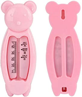 DSstyles Children's Cartoon Indoor Bath Thermometer Bear Water Thermometer Shower Products for Baby Pink