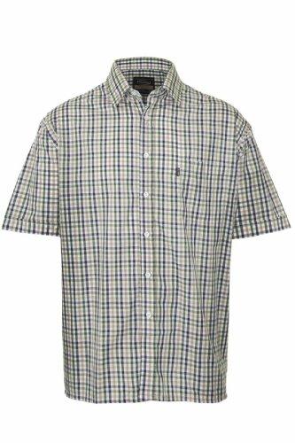 Mens Champion Short Sleeve Shirt Doncaster Casual Checked Shirt (X-Large,...