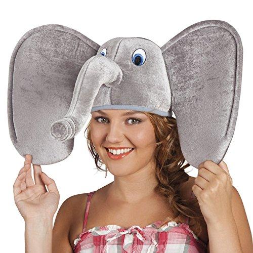 Boland 99949 Erwachsenenhut Elefant, One Size