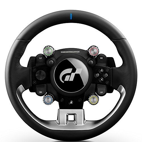 Thrustmaster T-GT (Volante incl. 3-Pedali, Force Feedback, 270° - 1080°, Eco-Sistema, Gran Turismo, PS4 / PC)