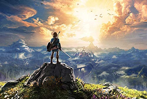 YANJ Puzzle 300/500/1000 la légende de Zelda jeu Puzzle puzzle bois Super dur décompression adulte