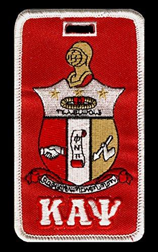 Kappa Alpha Psi Fraternity Shield Embroidery Id/luggage Tag