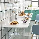 Folding table Mesa Plegable De Pared Blanca Mesa De Pared Plegable Cocina Mesa Abatible De Pared Simple Y Plegable Escritorio para Comedor Estudio