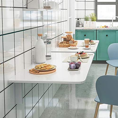 Folding table Mesa Plegable De Pared Blanca Mesa De Pared Plegable Cocina Mesa Abatible De Pared Simple Y Plegable Escritorio para Comedor Estudio