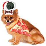 Rubie's Bone Appetite Pizza Chef Pet Set, Small/Medium