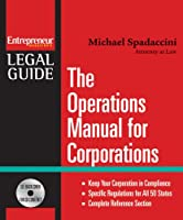 The Operations Manual for Corporations (Entrepreneur Legal Guides)