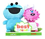GUND 6052074 Sesame Street BFF Set, 4' (Cookie Monster and Gonger)