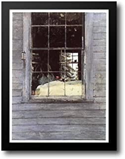 Geraniums 19x25 Framed Art Print by Wyeth, Andrew