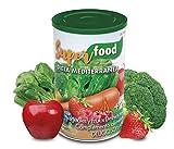 Superfood Dieta Mediterranea · Todas las Frutas y Verduras que necesitas en 1 cucharada / + de 20 MicroMultiNutrientes
