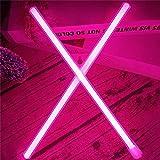 VIONNPPT LED Neon Brief Nachtlicht, Buchstabe Licht Alphabet Nachtlichter, Batterie/USB Powered, für Kinder Schlafzimmer Weihnachtsfeier Hochzeit Dekorationen, Rosa (X)
