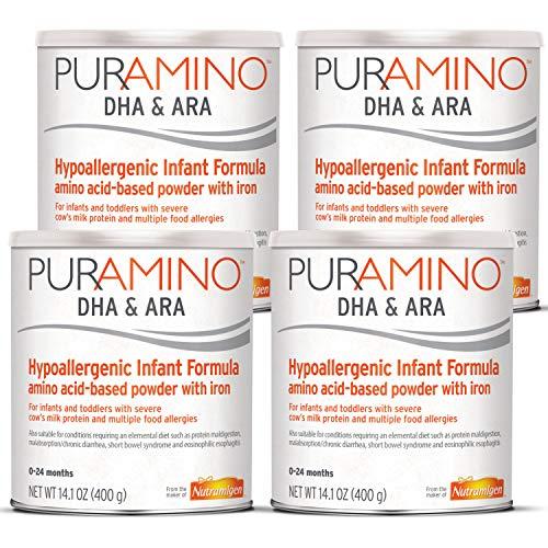 Puramino Hypoallergenic Infant & Toddler Formula