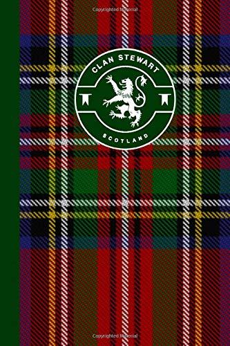 Royal Stewart Clan Scottish Tartan Plaid Journal: Scotland Travel Notebook Celtic Gift