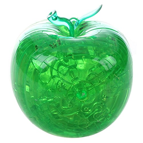 Dcolor 3D Crystal Puzzle - Gruen Apfel