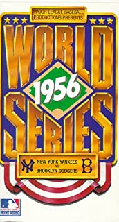 1956 World Series: New York Yankees vs. Brooklyn Dodgers includes Don Larsen's Perfect Game  VHS