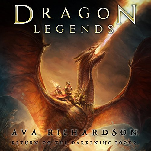 Dragon Legends audiobook cover art