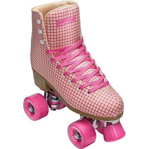 Impala Rollerskates - Pink Tartan (US 5 / EU 36 / UK 3