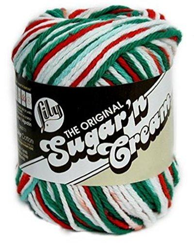 Lily Sugarn Cream Yarn Ombres (6-Pack) Christmas Mistletoe 102002-138
