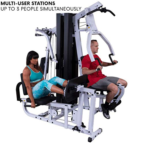 Product Image 7: Body-Solid EXM3000LPS Multi-Station Selectorized Gym for Light Commercial and Home Gym