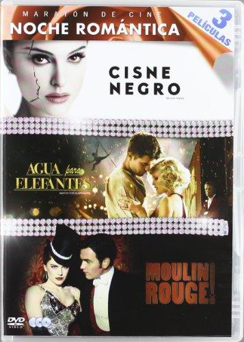Maraton De Cine: Noche Romantica:Cisne Negro / Agua Para Elefantes / Moulin Rouge - Tri [DVD]