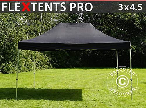 Dancover Vouwtent/Easy up tent FleXtents PRO 3x4,5m Zwart