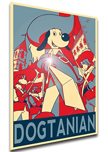 Instabuy Poster - LL0555 - Propaganda - Dogtanian and The Three Muskehounds - Characters