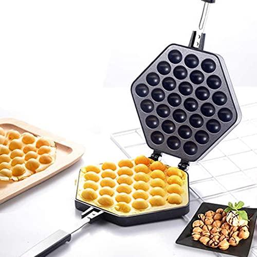 Waffle pannkaka maker, nonstick vaffelmakare ägg bubbla pan aluminium legering pan tårta bakplatta, ägg bakning mögel, ägg kaka maskin, våffel tillverkare ägg bubbla pan för hem kök