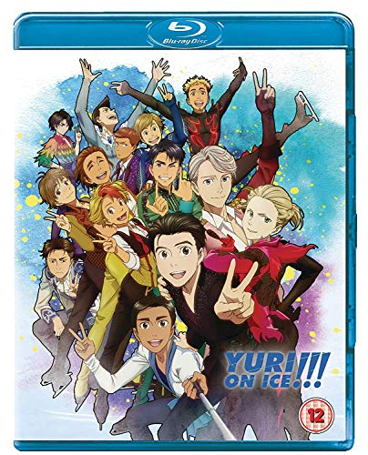Yuri!!! On Ice - The Complete Series [DVD + Blu-ray] [2018] [Reino Unido] [Blu-ray]