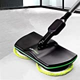 Super Maid,Handheld Spinning Mop Floor Scrubber Waxing Machine Polisher Sweeper