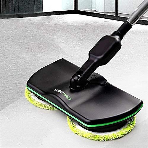 lHishop Super Maid Fregadora De Mano Spinning Mop Scrubber Máquina De Encerar Barredora Pulidora