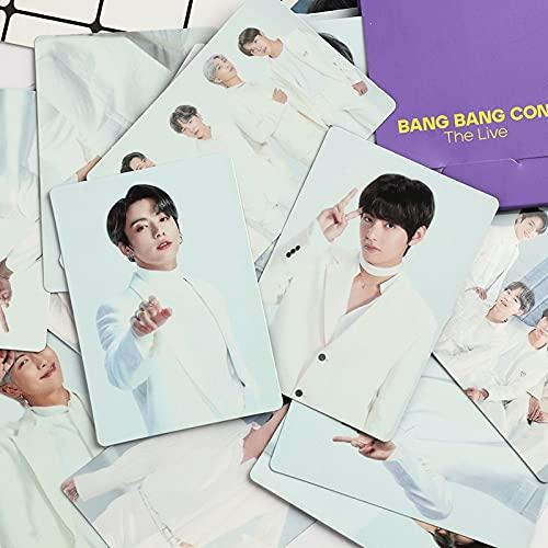 PMSMT 2020 k-Pop Bangtan Boys Lomo Photo Card Nuevo álbum Bang Bang con Fotos en Vivo Jung Kook Jimin Suga RM v jhope Poster