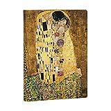 Paperblanks Faszinierende Handschriften Gustav Klimts 100. Todestag Der Kuss Notizbuch Midi Unliniert Sonderausgabe (Special Edition)